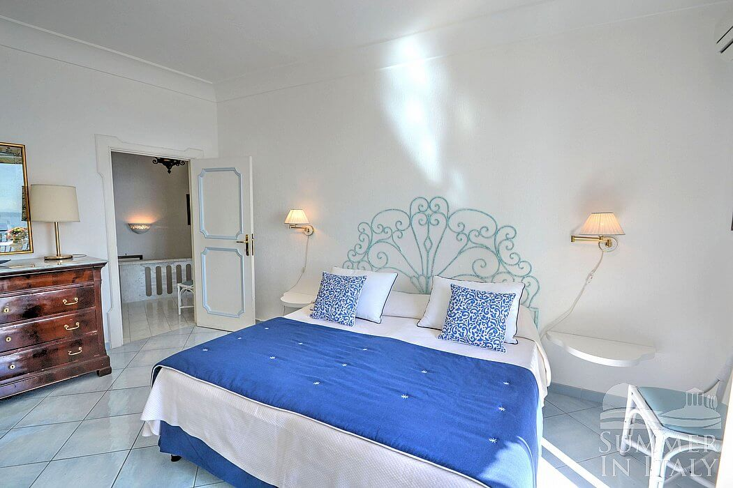 Letto Matrimoniale Emilia Romagna.Villa Isotta Villa In Affitto In Positano Costiera Amalfitana Italy