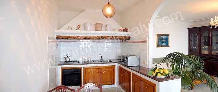 Casa odetta casa vacanza in positano costiera amalfitana - Cucine con arco ...