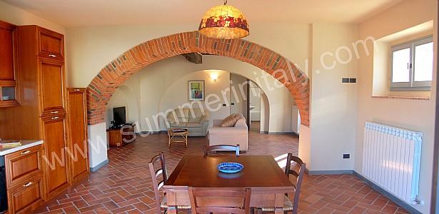Arco con mattoni a vista decora la tua vita - Cucine con arco ...