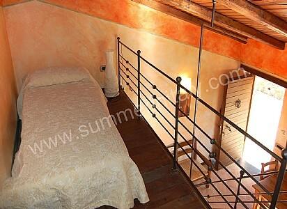 casa rosamunda b: appartamento ammobiliato in casal velino, parco ... - Soppalco Camera Da Letto