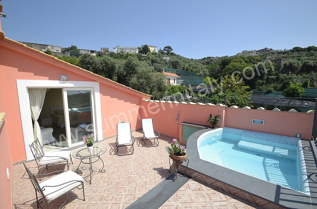 Villa panfilo: villa in affitto in massa lubrense penisola